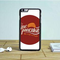 Mr Pancake Logo iPhone 6 Case