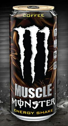 Muscle Monster Energy Shake, Coffee