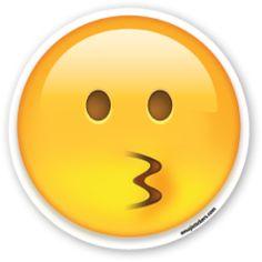 Kissing Face | Emoji Stickers