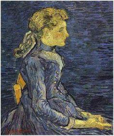 Portrait of Adeline Ravoux; Auvers-sur-Oise, France; June, 1890
