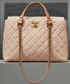 Chanel Spring Summer 2017 Pre Collection Ping Bag In Iridescent Grained Calfskin