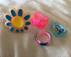 Funky Jewelry, Hippie Jewelry, Cute Jewelry, Jewelry Accessories, Hippie Rings, Jewlery, Diy Rings, Cute Rings, Sunflower Ring