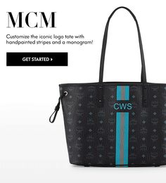 MCM - Customize the Iconic Tote