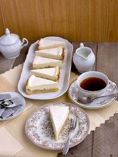 Cheesecakes, Sweet Recipes, Tea Time, Cooking Recipes, Sweets, Chocolate, Dining, Eat, Tableware