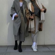 Korean Fashion Trends you can Steal – Designer Fashion Tips Modest Fashion, Hijab Fashion, Fashion Outfits, Womens Fashion, Fashion Trends, Indie Outfits, Lolita Outfit, Winter Stil, Business Outfit