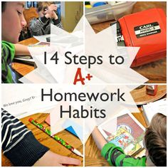 Homework Helpers: 14 Steps to A+ Habits at Threadbare Theory