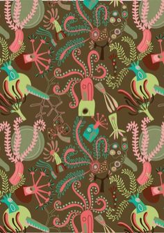 Melvyn Evans pattern - polyps