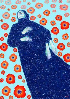 La belleza nórdica y cósmica de Natalie Foss - Cultura Inquieta