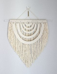 I have such a love for macrame wall hangs at the moment