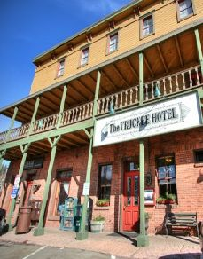 Two haunted places in Truckee, CA. have you had a ghost experience  in that town—let me know:  hainthunter@aol.com