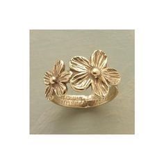SPRING ETERNAL RING - Bands - Rings - Jewelry   Robert Redford's... ($565) via Polyvore