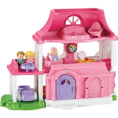 Fisher-Price Little People Happy Sounds Home Play Set #sharethejoywm