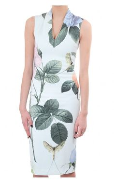 d87a564a921dd Ted Baker London Mint Ravina Distinguishing Rose Midi Dress 1 (US