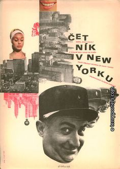 Poster The Gendarme in New York (Terry posters)