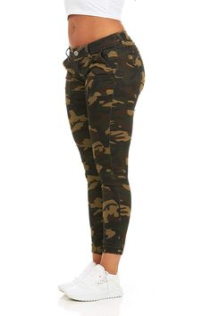 online shopping for Cover Girl Cover Girl Women's Camo Print Skinny Jeans Joggers Cargo Lace Leg from top store. See new offer for Cover Girl Cover Girl Women's Camo Print Skinny Jeans Joggers Cargo Lace Leg Camo Skinny Jeans, Plus Size Skinny Jeans, Printed Skinny Jeans, Dress Clothes For Women, Pants For Women, Jackets For Women, Flowy Pants, Women's Pants, Adidas Pants