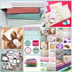 2�SORTEO � UN PACK para scrap y project life!
