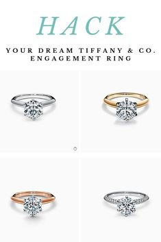 05a4ea1d0deae 15 Best Tiffany & Co Engagement Ring Look-Alikes images in 2019 ...