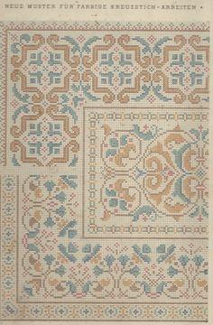 Cross Stitch OR Needlepoint Pattern Cross Stitch Borders, Cross Stitch Samplers, Cross Stitch Charts, Cross Stitch Designs, Cross Stitching, Cross Stitch Patterns, Diy Embroidery, Cross Stitch Embroidery, Embroidery Patterns