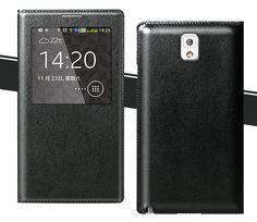 Original S View Window Sleep Function Luxury Flip Leather Back Cover For Samsung Galaxy Note 3 N9000 Phone Coque Case-in Phone Bags & Cases from Electronics on Aliexpress.com | Alibaba Group