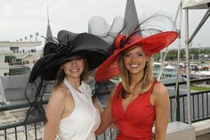 The spectacular female fashion often seen at the Kentucky Derby is not solely a product of modern times; rather, opulent feminized dress has played a large role in the history of the Kentucky Derby.