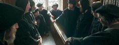 A secret meeting of Tyndale's followers-Episode 1 Recap, WOLF HALL ON PBS!! (US viewers) If you could use some help managing Wolf Hall's complex machinations and maneuvers, revisit 15 key moments from Episode 1: Three Card Trick. Clear up questions about timelines and Thomases, note allies and enemies to watch, and accompany characters to seats of power…and exile.