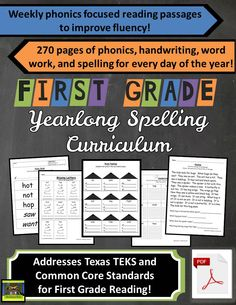 1st grade spelling challenge list sra sailing through 1st grade includes word families fluency passages word work activities cloze sentences and more for first grade students fandeluxe Images