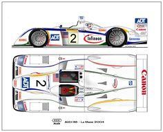 Audi R8 2004