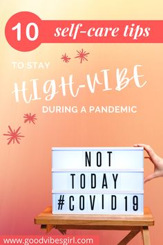 It's not exactly easy to practice self-care during a pandemic. These tips will help you stay high-vibe and show up as your best self!   #selfcare #selfcaretips #goodvibes #highvibes Make You Feel, How Are You Feeling, Girls Love Travel, Stay High, Budget Travel, Travel Tips, Feeling Happy, Best Self, Blog Tips