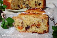 Torta di mele, albicocche e cioccolato, adoro preparare le torte di mele e sbizzarrirmi inserendo al interno altri ingredienti. Sono tutte prove che faccio,