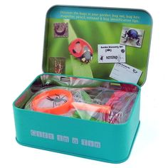 Gift in a tin, Garden discovery set  @rspblovenature
