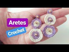 Crochet Videos, Macrame Jewelry, Anklets, Crochet Projects, Crochet Earrings, Jewelry Accessories, Crochet Patterns, Chokers, Gemstones