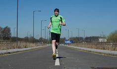 Meet Simon Wheatcroft, the blind ultramarathon runner...  An eye disease left Wheatcroft blind at 18, but by memorising routes he runs unaided and even competes in ultramarathons.