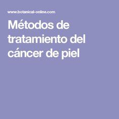 Métodos de tratamiento del cáncer de piel