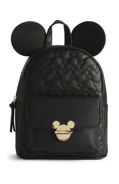 Primark - Mochila Mickey Mouse - Kelly World Cute Mini Backpacks, Stylish Backpacks, Girl Backpacks, Rucksack Backpack, Backpack Purse, Mochila Mickey Mouse, Mickey Mouse Backpack, Mickey Mouse Clothes, Mickey Mouse Shoes
