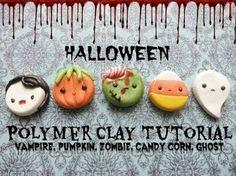 Resultado de imagen para halloween polymer clay