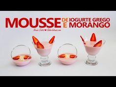 ▶ Receita de Mousse de Iogurte Grego e Morango - YouTube