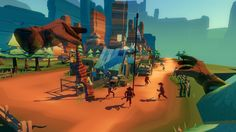 """Review: Dino Frontier: Any game that sincerely and repeatedly refers to you as """"Big Mayor"""" is my kinda game. Following its PlayStation VR…"""