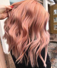 So peachy! Gorgeous work by @hairbyriikka. Pastellinen kevätsävy tehty KC Blonde Toner -hiusvärillä.  #fourreasons #peachhair #blondehair #pastelhair #curlyhair #wavyhair Peach Hair, Hair Color, Long Hair Styles, Beauty, Instagram, Colourful Hair, Haircolor, Long Hairstyle, Peach Hair Colors