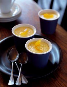 Petits pots de crème au citron faciles