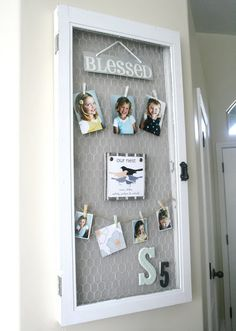 DIY Picture Window Project - a little heartwarming DIY <3