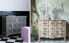 La cómoda en la decoración del dormitorio | DECOFILIA.COM
