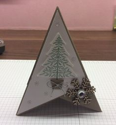 Tutorial for the Pyramid Card – Emerald kreations