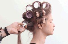 Technique for volumizing thin hair