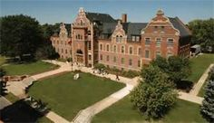 Grand View University, Des Monies, Iowa. Established in 1896 by Danish Lutheran immigrants. Today it is an ELCA affiliated university with a strong Danish heritage.
