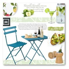 """""""Mobilificio Marchese"""" by edy321 ❤ liked on Polyvore featuring WallPops, Envi, Sur La Table, Kate Spade, summeroutdoordining and mobilificiomarchese"""
