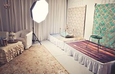 Flying Fig Photography: My Humble Studio ~Love all of the little details that are added to the studio for the comfort of the client!