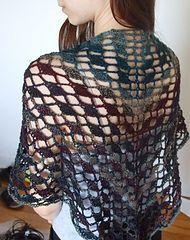 Ravelry: Flying Fans Shawl pattern by Laura Garsten