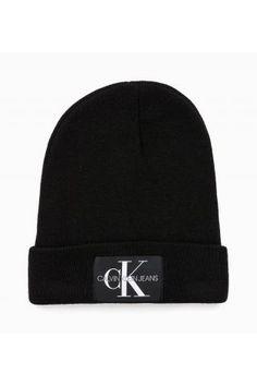 Calvin Klein černá unisex čepice J Basic Knitted - 1090 Kč Calvin Klein, Beanie, Unisex, Hats, Fashion, Moda, Hat, Fashion Styles, Beanies