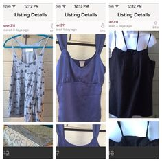 Size m tank top bundle! Bundle of 3 size medium tank tops previously listed separately in my closet!  Forever 21 cats in bow ties racer back . size M / normal wear and slight pilling from multiples wears and wash / Ann Taylor sz med Royal blue silk front tank, minor pull unnoticeable / Joes jeans black tank/halter top size m (runs big) excellent used condition Forever 21 Tops Tank Tops