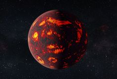Hubble Space Telescope Analyzes Atmosphere of Super-Earth Exoplanet for First…